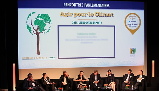 Rencontres parlementaires climat