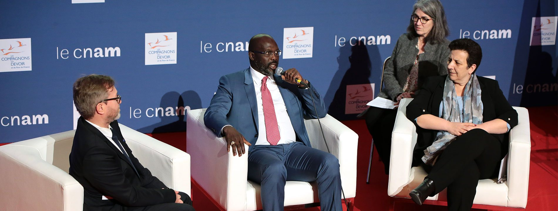 conférence georges weah